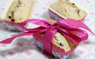 Petits cakes aux myrtilles