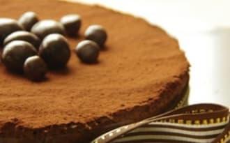 Gâteau léger aux deux fèves