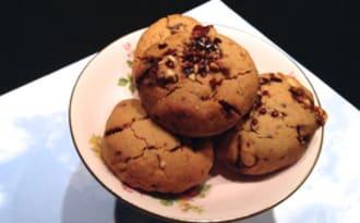 Cookies aux cacahuètes pralinées