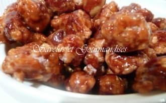 Chouchous ou cacahuètes caramélisées.