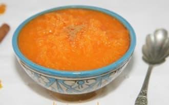 Salade marocaine de carotte à l'orange