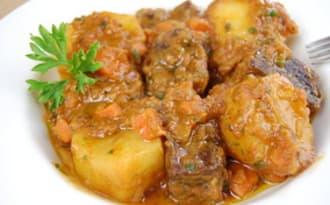 Ragoût de boeuf aux pommes de terre