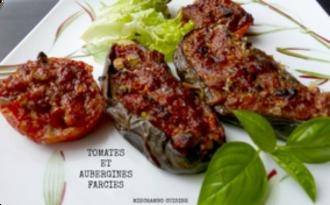 Légumes farcis au poisson à la Provençale
