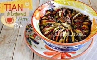 Tian provençal de légumes bio aux herbes de Provence