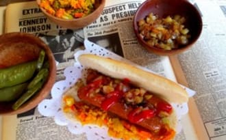 Hot-Dogs Vegan et leur Garnitures