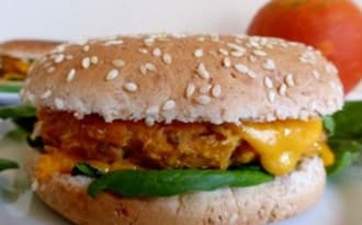 Burgers au potiron
