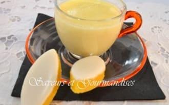 Crème aux calissons