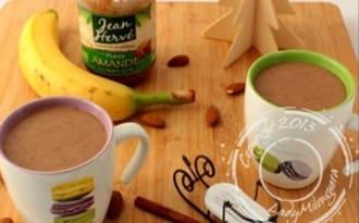 Banana chaï latte