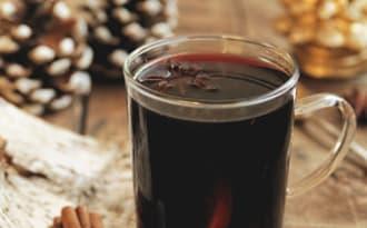 Vin chaud à la clémentine, citron vert et gingembre
