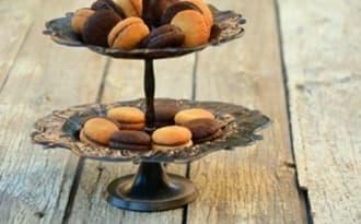 Baci di Dama amande, chocolat et noisettes