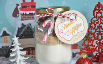 Kit à cookies pour cadeau gourmand