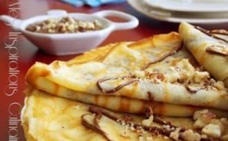 Pâte à crêpes facile à la fleur d'oranger