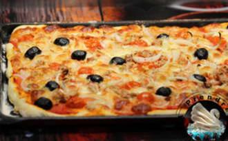Pizza provençale au thon