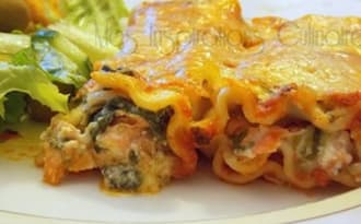 Cannelloni au saumon