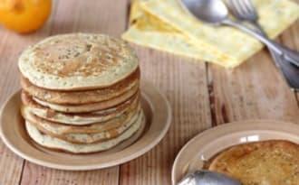 Pancakes et caramel à la bergamote