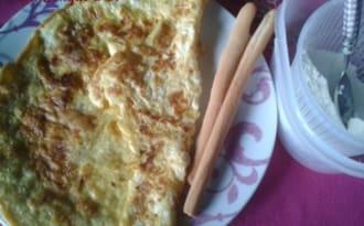 Omelette à la ricotta