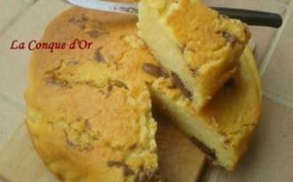 Gâteau Nua au Nutella