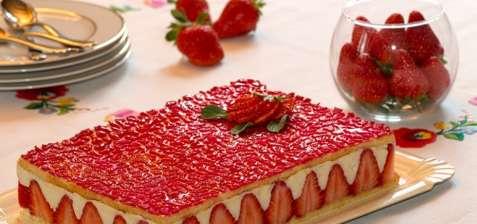 Le fraisier, un des desserts préférés des français