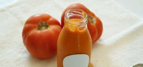 Coulis rouge tomate !