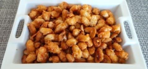 Chouchous ou cacahuètes caramélisées