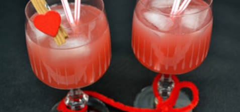 Cocktail rouge passion