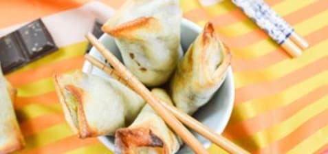 Pour rester zen, mangez des nems !