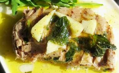 Thon Grillé à la Sauce Giovanni