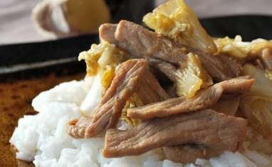 Porc shogayaki