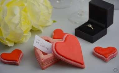 Biscuits de Saint-Valentin