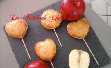 Sucettes de chaussons aux pomme