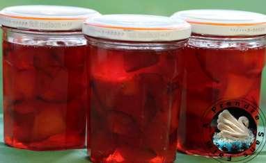 Confiture de prunes à la cannelle