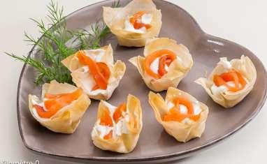 Petites bouchées au saumon