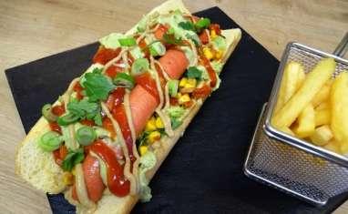 Hot dog à la mexicaine