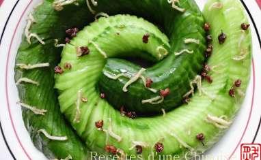 Salade de concombre Suo