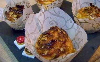 Galette cupcake clémentine corse et cannelle