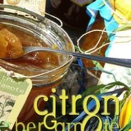Confiture de citron bergamote