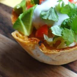 Tacos en mini bols