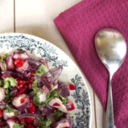 Salade de poulpe à la portugaise
