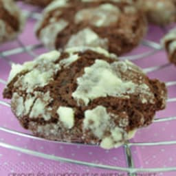 Crinkles au chocolat d'après Martha Stewart