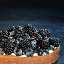 Black tarte d'après Christophe Adam