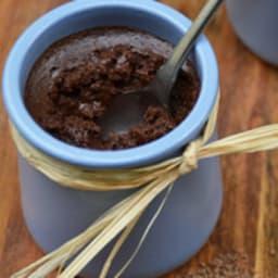 Mousse au chocolat et fleur de sel