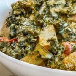 Curry de chou kale