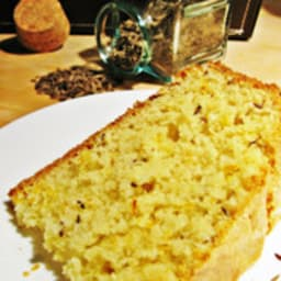 Cake anglais à l'orange et au carvi