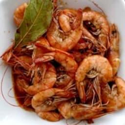 Crevettes bbq style Louisiane