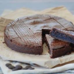 Gateau basque tout chocolat et piment d'Espelette
