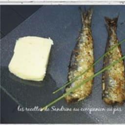 Sardines grillées au gros sel, huile d'olive et piment d'Espelette