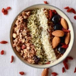 Smoothie bowl pour un petit déjeuner idéal