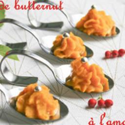 Douceurs de butternut à l'amande