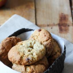 Cookies à la compote de pommes et flocons d'avoine