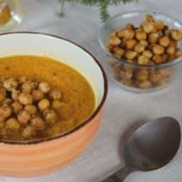 Soupe de carottes aux épices
